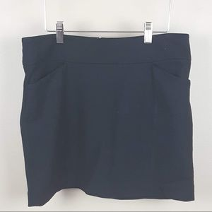 White House Black Market black mini skirt small